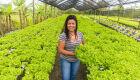 Sítio em Cabo Frio alavanca produção de alfaces fazendo uso racional da água