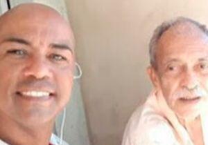 Corpo do pai do jornalista e radialista Eduander Silva é sepultado nesta quinta-feira (24)