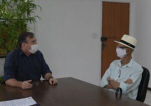 Na primeira reunião de transição, Bonifácio pede relatório de contas e relação de servidores