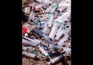 Comsercaf recolhe lixo hospitalar descartado irregularmente em Unamar