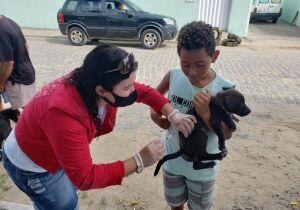 Campanha de Vacinação Antirrábica em Arraial se estende por mais duas semanas