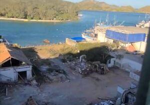 Demolição do Galpão de Sal surpreende e gera indignação em Cabo Frio