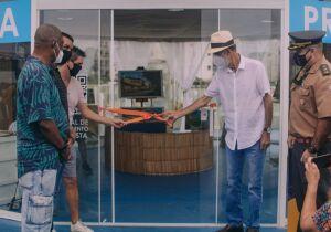 Quiosque Prefeitura Presente é inaugurado na orla da Praia do Forte, em Cabo Frio