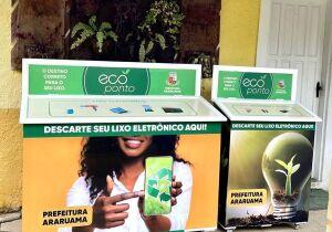 Prefeitura de Araruama instala ecopontos para o descarte de lixo eletrônico