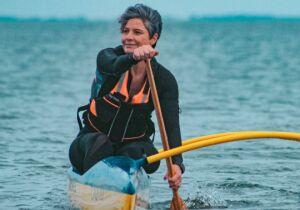 Canoagem ressignifica relação de moradores com a Lagoa de Araruama
