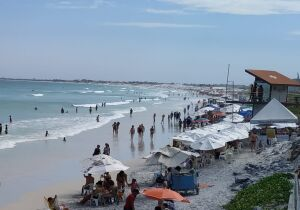 Homem morre afogado neste sábado na Praia do Foguete, em Cabo Frio