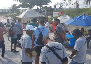 MPF elogia limpeza na Praia do Forte, mas pede colocação de mais lixeiras na areia