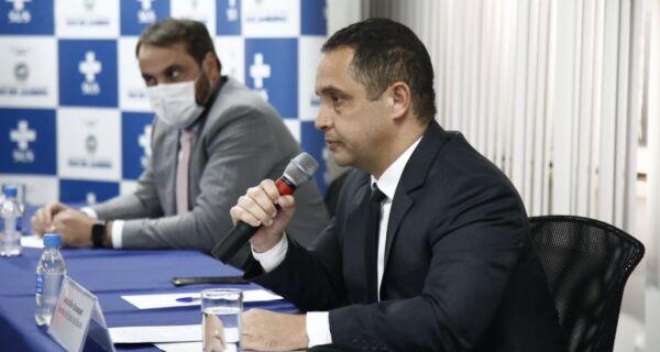 Secretário estadual de Saúde Alex Bousquet entrega o cargo
