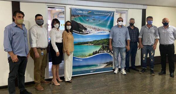 Grupo de iniciativas pública e privada formaliza protocolo para movimentar Aeroporto de Cabo Frio
