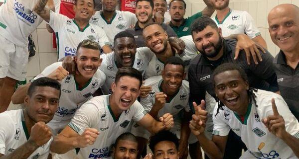 Cabofriense vence de virada e assume liderança do seu grupo na Série D do Brasileirão
