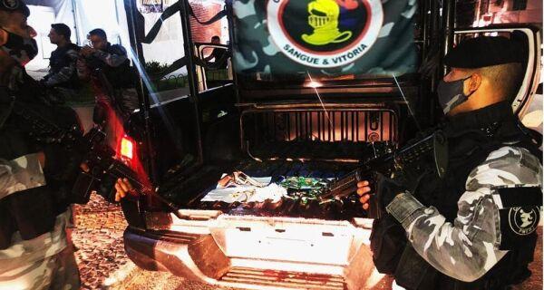 Policiamento ostensivo na região segue até o feriadão da Padroeira