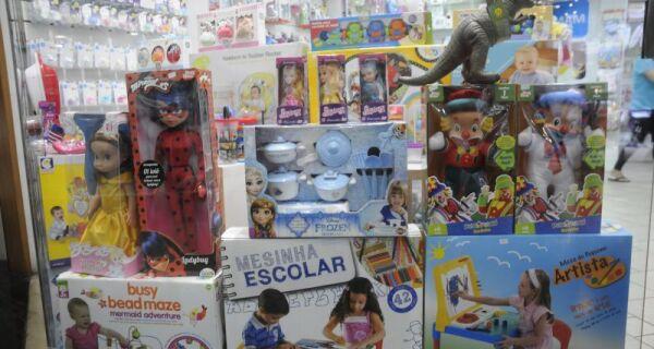 Sebrae e Fecomércio terão ações gratuitas de estímulo ao comércio no Dia das Crianças