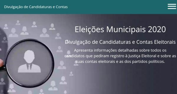 TSE libera plataforma digital para consulta de candidaturas