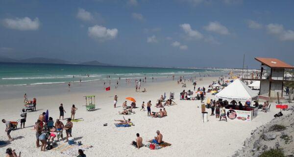 Bombeiros fazem 61 resgates nas praias da região no último feriado