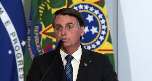 """Vacinação """"não é uma questão de Justiça, mas de saúde"""", diz Bolsonaro"""