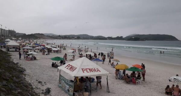 Decreto libera definitivamente acesso às praias e banho de mar em Cabo Frio