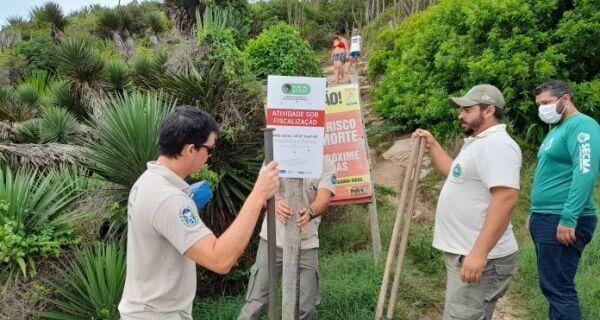 Cobertura vegetal da Costa do Peró passa a ser monitorada por satélite