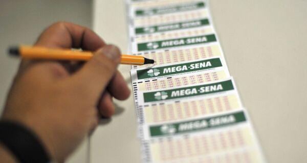 Mega-Sena sorteia nesta quarta prêmio de R$ 45 milhões