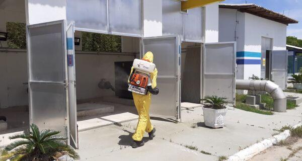 Prolagos mantém rotina de sanitização das unidades