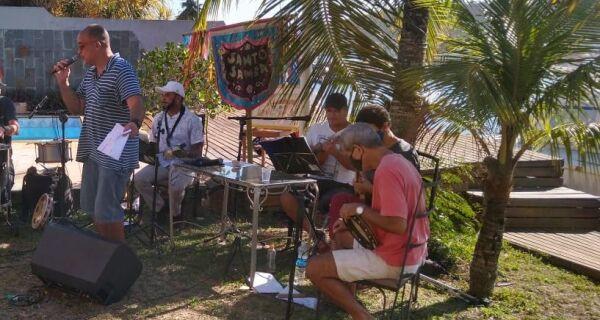 Santo Samba faz segunda live neste domingo (18) para levantar fundos para artistas em dificuldades