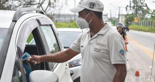 Guarda Municipal reforça barreiras sanitárias em Búzios