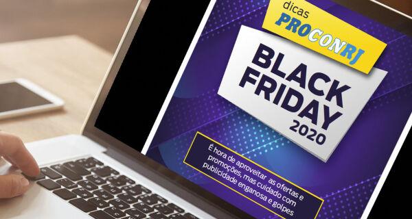 Procon Estadual lança cartilha com orientações para compras na Black Friday