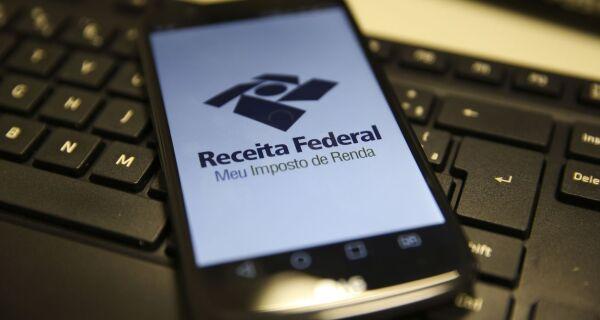 Receita paga nesta segunda restituições do lote residual do IR de novembro