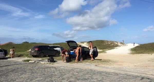 MPF cobra providências da Secretaria de Meio Ambiente sobre estacionamento irregular em Cabo Frio
