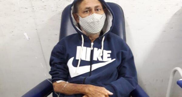 Paciente da UPA de Cabo Frio que precisa de internação pede por atendimento