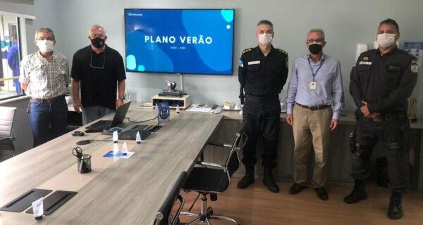 Comandante do 25º BPM visita sede da Prolagos e conhece Plano Verão 2020/2021