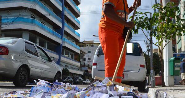 Comsercaf prepara operação de limpeza para o dia da eleição