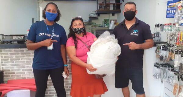 ONG aldeense recebe doações da campanha De Olho no Óleo