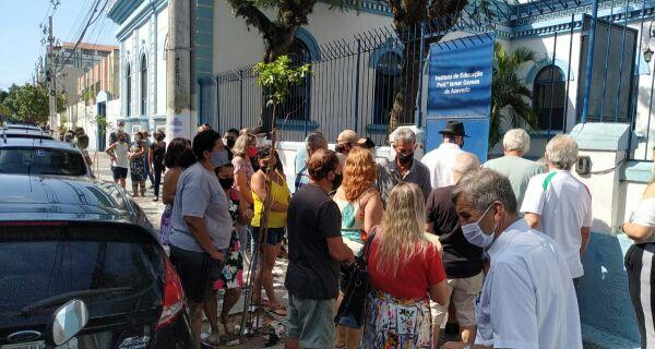 Votação em Cabo Frio começa com tranquilidade neste domingo