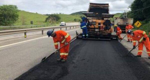Obras de melhoria no pavimento da ViaLagos são iniciadas
