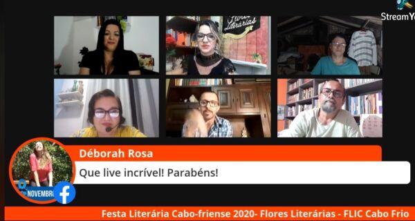 Coletivo Cultural Flores Literárias promove mais uma edição da Festa Literária Cabo-friense