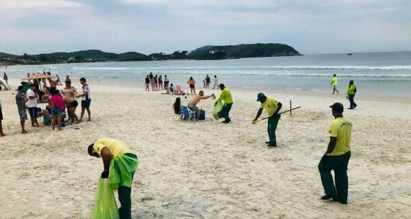 Prefeitura de Cabo Frio prepara esquema especial de limpeza para virada do ano