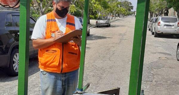 Defesa Civil de Cabo Frio faz vistoria de carrinhos que usam botijão de gás GLP