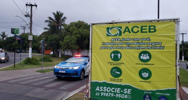 Associação Comercial de Búzios faz campanha de prevenção e conscientização durante alta temporada