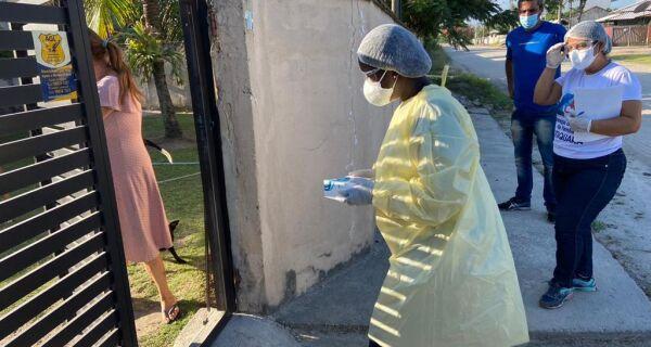 Blitz Covid em Praia Seca identifica 85 infectados no último fim de semana
