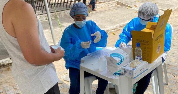 Em ação contra Covid-19 em São Vicente, 71 moradores testaram positivo