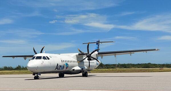 Azul voltou a oferecer voos para Cabo Frio nesta segunda-feira; veja fotos