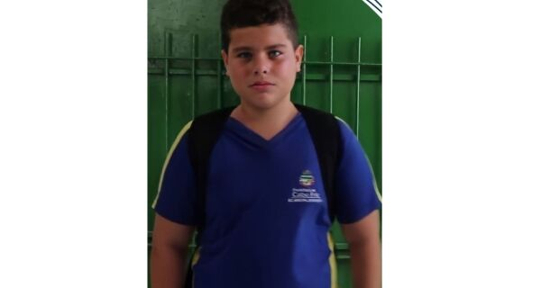 Aluno da rede municipal de Cabo Frio ganha prêmio de melhor ator em festival de cinema escolar