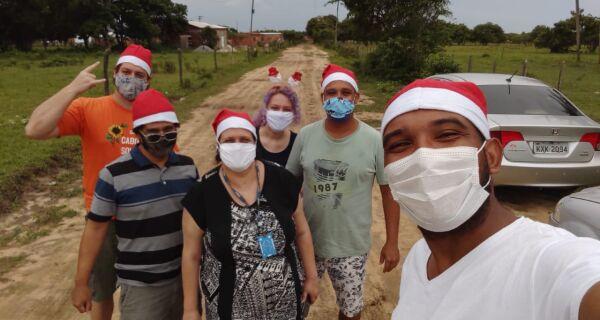 Pandemia reforça corrente de solidariedade de fim de ano