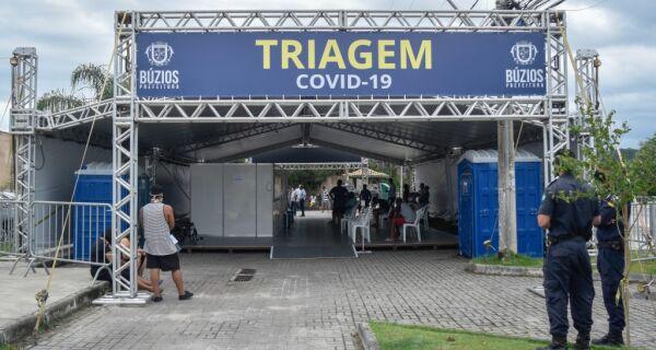 Búzios inaugura tenda de triagem para suspeitos de covid-19