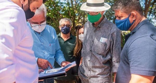 Prefeitura e Estado se acertam para construção de escola modelo de Ensino Médio em Tamoios