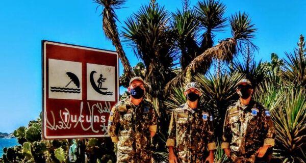 Guarda Ambiental de Búzios faz operação para coibir estacionamentos irregulares
