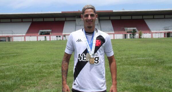 Craque de Arraial do Cabo faz parte de elenco campeão da Copa do Brasil Sub-20 pelo Vasco