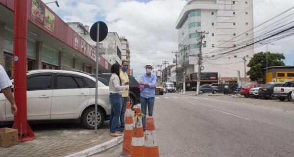 Rua no bairro Vila Nova, em Cabo Frio, passa a ser de mão única