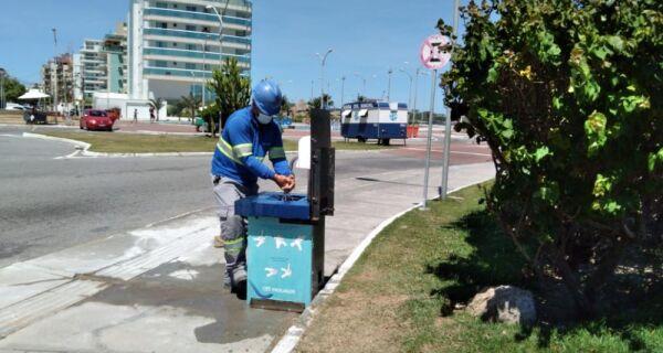 Prolagos instala pia comunitária na Praia do Forte