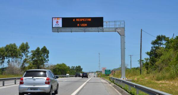 ViaLagos instala novos painéis luminosos para a comunicação com os motoristas